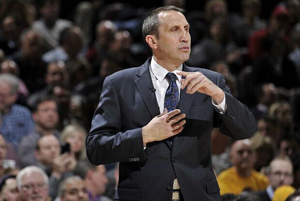David Blatt entrenador de Cleveland Cavaliers
