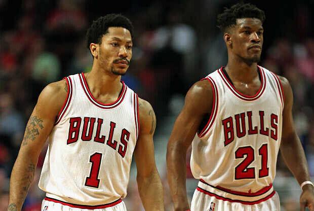 Derrick Rose - Jimmy Butler Chicago Bulls