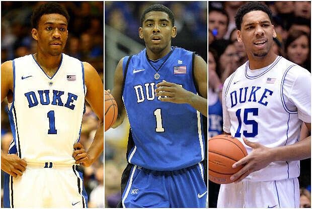 Jugadores de la Universidad de Duke