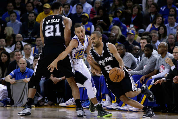 Golden State Warriors se enfrenta a San Antonio Spurs