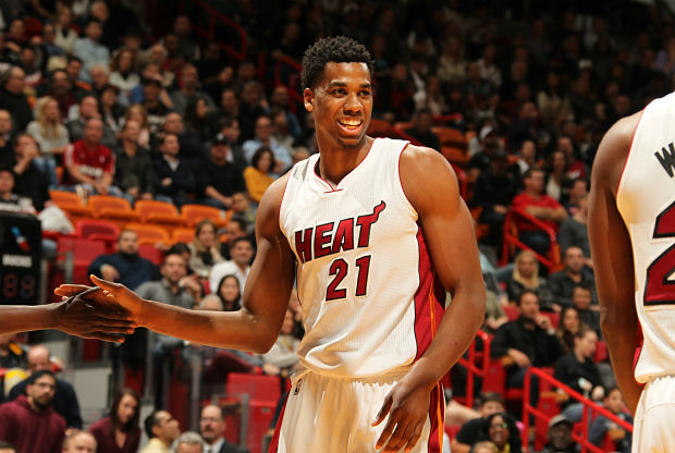 Hassan Whiteside, jugador Miami Heat