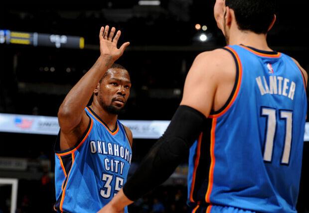 Kevin Durant contra Denver Nuggets
