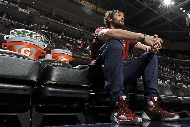 Kevin Love, jugador de Cleveland Cavaliers
