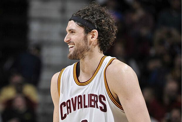 Kevin Love de Cleveland Cavaliers
