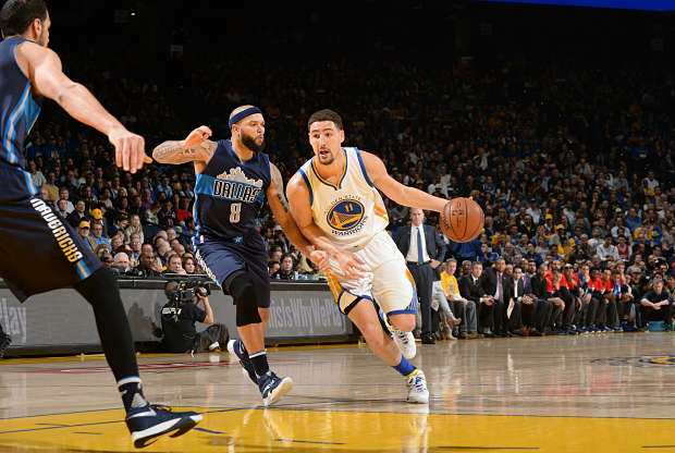 Klay Thompson contra Dallas Mavericks