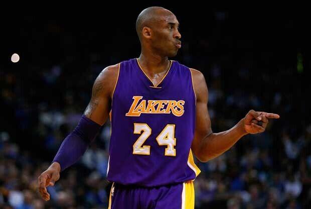 Kobe Bryant, durante un partido con Los Angeles Lakers
