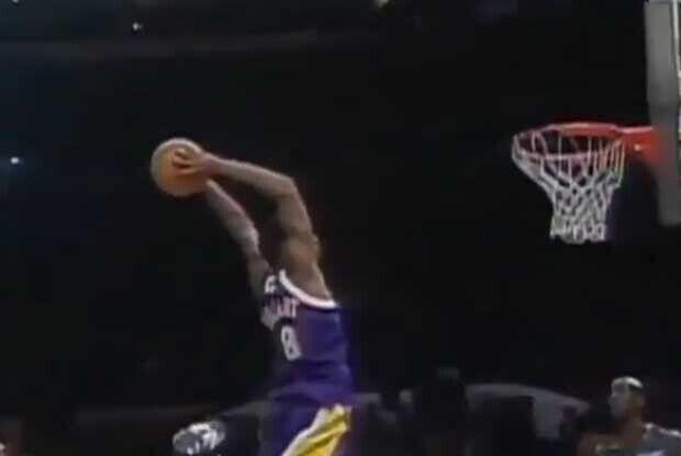 Kobe Bryant, en su primer All Star Game
