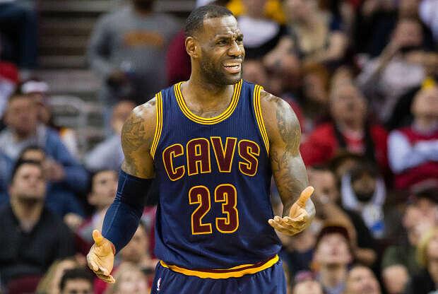 LeBron James sufre la humillación de Cleveland Cavaliers