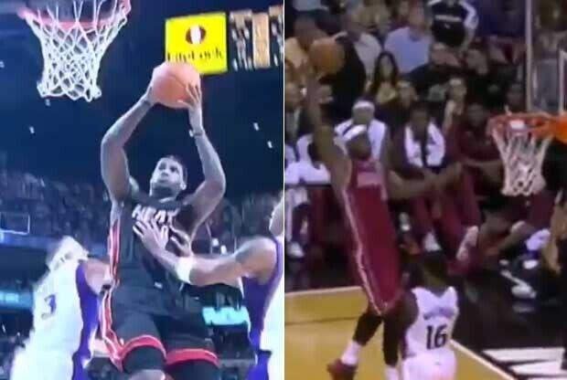 Las jugadas más salvajes de LeBron James