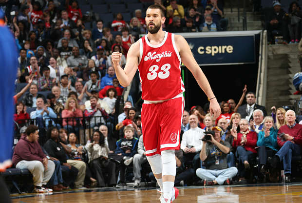 Marc Gasol frente a New York Knicks