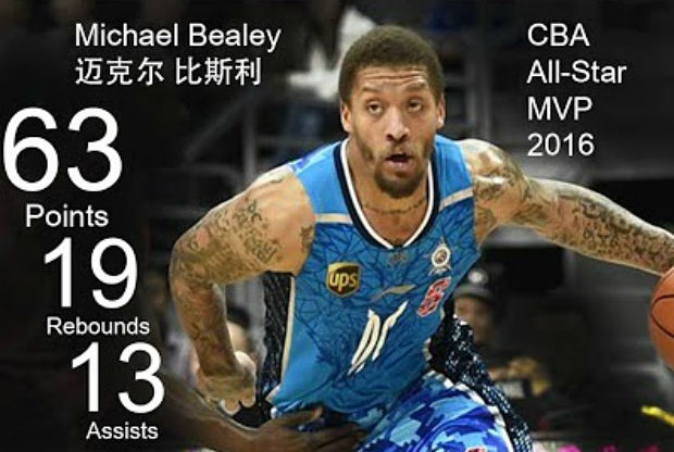 Michael Beasley en la liga china