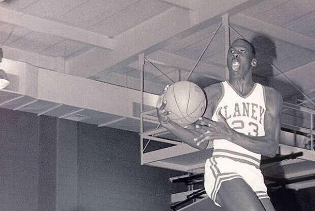 Michael Jordan en el instituto