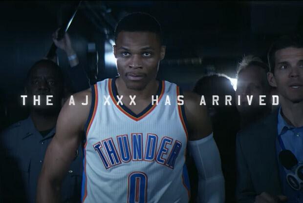 Russel Westbrook protagoniza en comercial de Air Jordan XXX