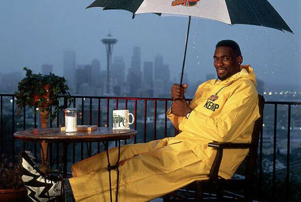 Shawn Kemp, leyenda de la NBA