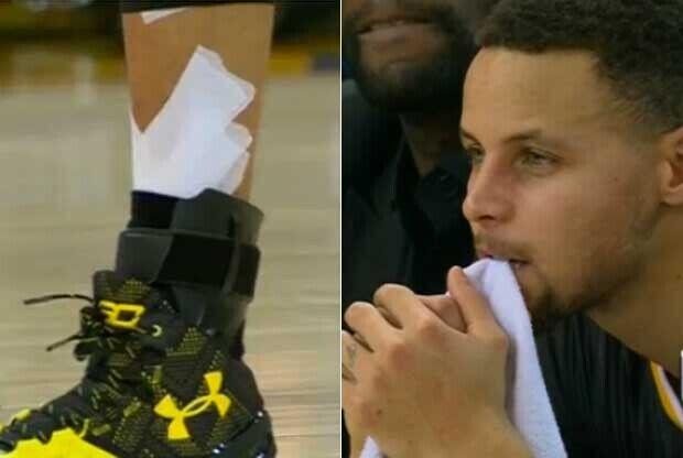 Stephen Curry recae de su lesión