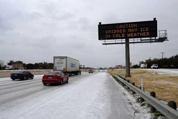 Temporal de frío en Estados Unidos