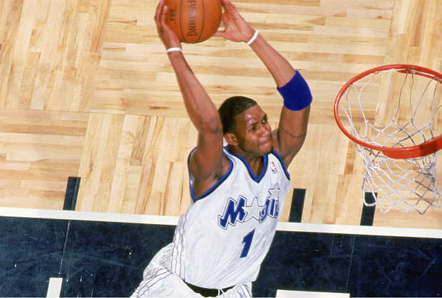 Tracy McGrady, jugador de ORlando Magic