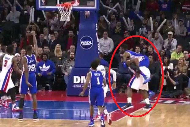 La falta más descarada de la historia de la NBA