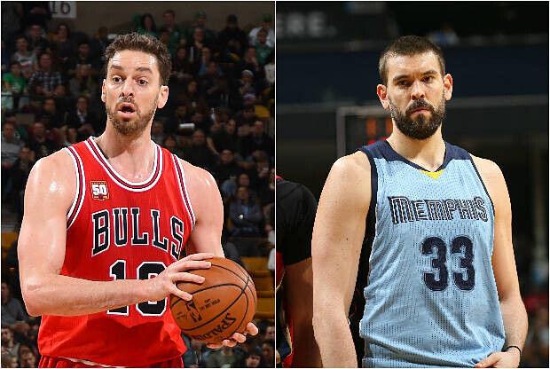 Los hermanos Gasol son dos estrellas de la NBA