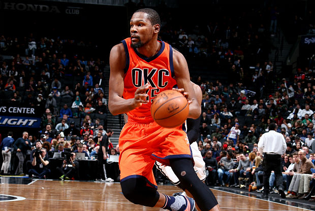 Kevin Durant, jugador Oklahoma City Thunder
