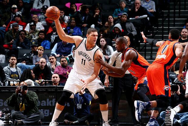Brook Lopez, jugador Brooklyn Nets