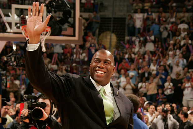 Magic Jhonson, ídolo Los Angeles Lakers