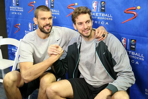 Pau y Marc Gasol, estrellas españolas en la NBA
