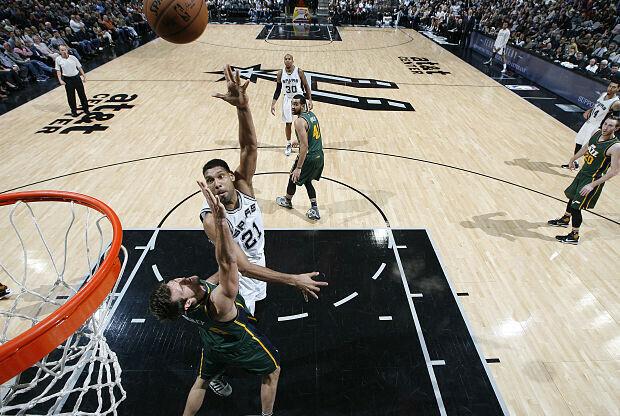 Tim Duncan. jugador San Antonio Spurs