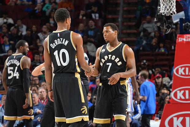 Toronto Raptors, segundos en Conferencia Este