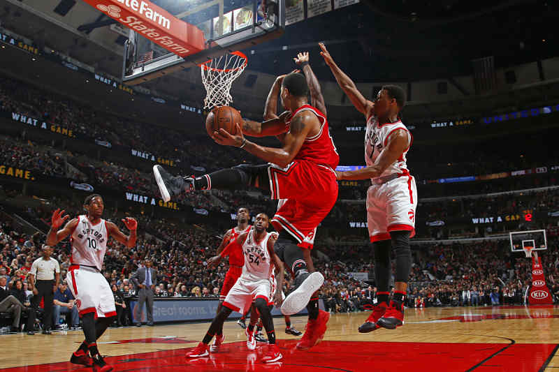 Chicago Bulls contra Toronto Raptors