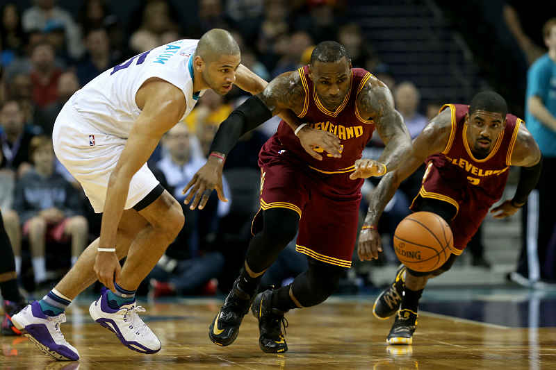 Cleveland Cavaliers contra Charlotte Hornest