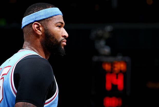 DeMarcus Cousins, jugador de Sacramento Kings
