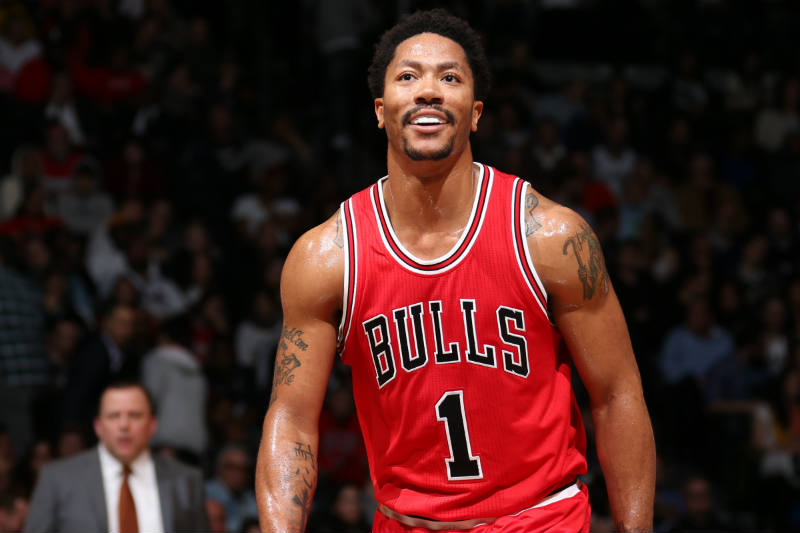 Derrick Rose de Chicago Bulls