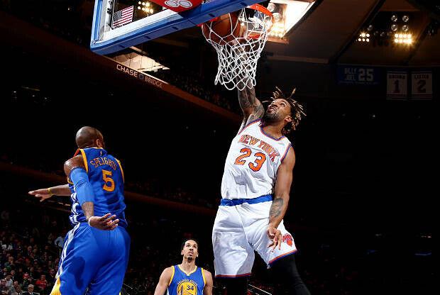 Derrick Williams, jugador de New York Knicks