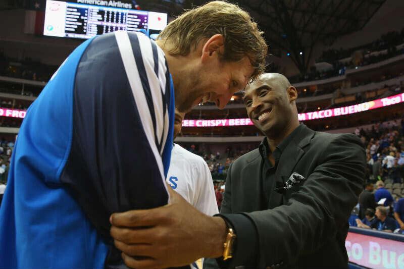Dirk Nowitzki - Kobe Bryant