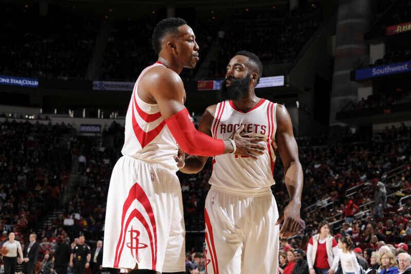 Dwight Howard - James Harden de Houston Rockets