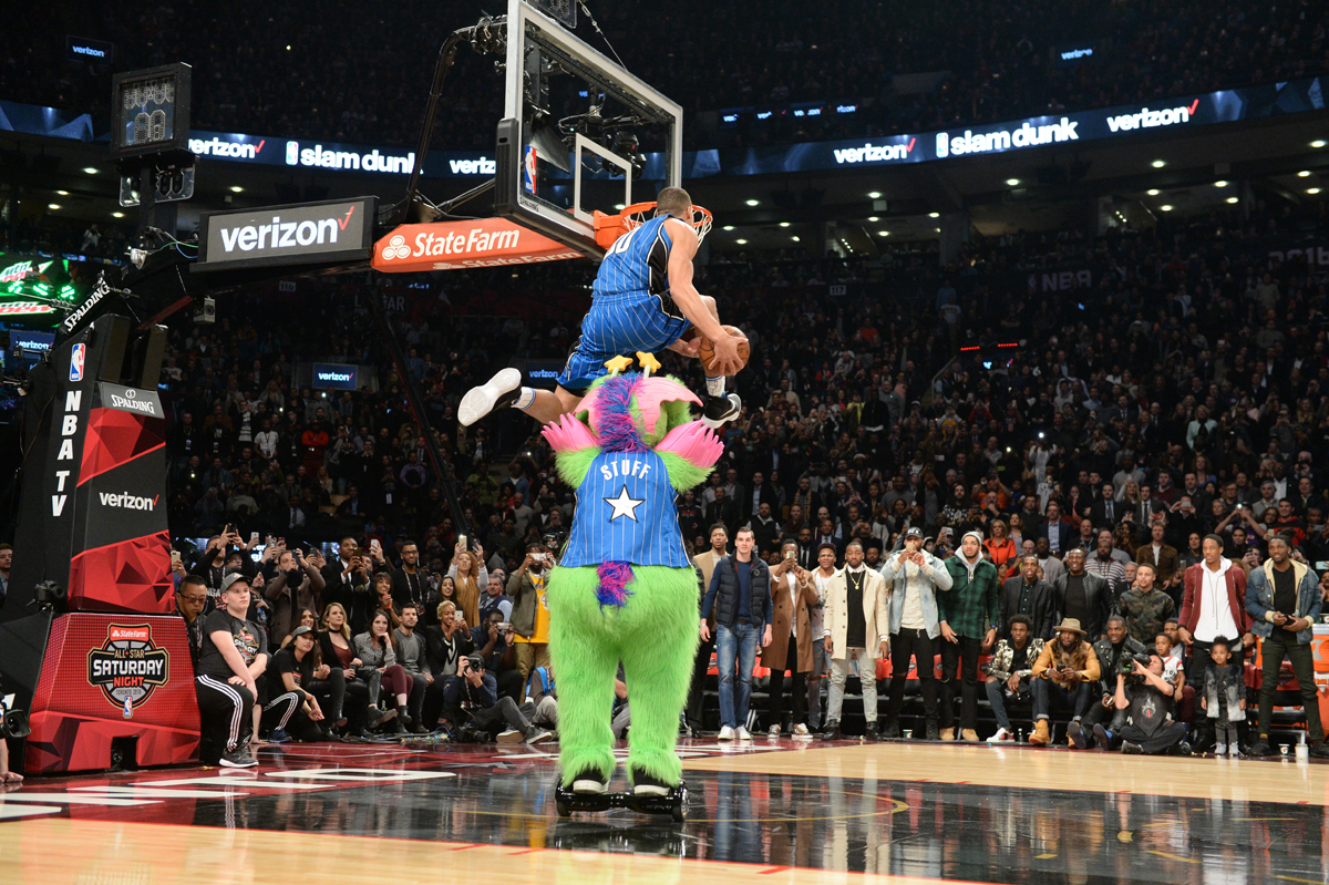 Slam Dunk Contest 2016