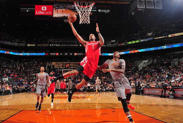 Houston Rockets contra Phoenix Suns