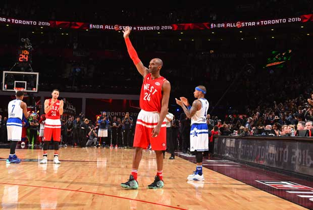Kobe Bryant se despide en en su último All-Star Game
