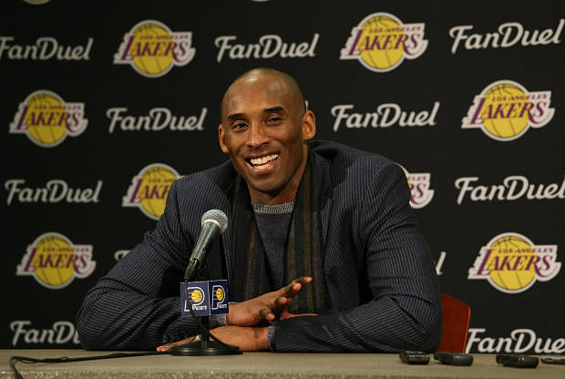 Kobe Bryant de Los Angles Lakers