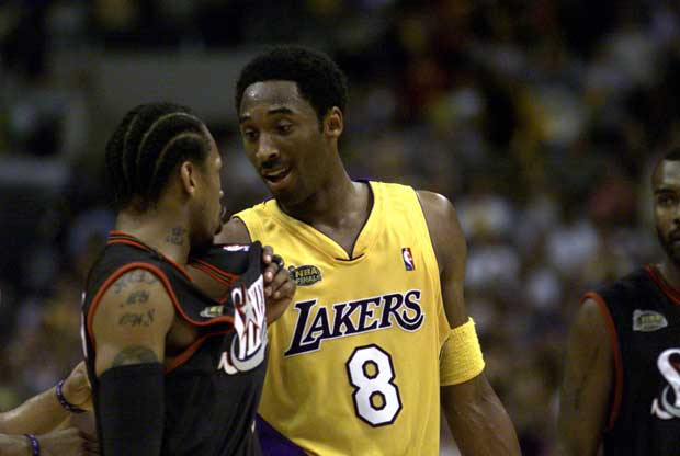 Pique entre Kobe Bryant y Allen Iverson