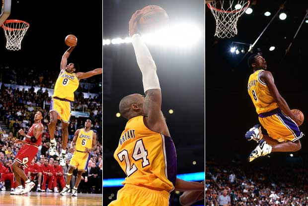Kobe Bryant Dunks On Kevin Durant Los 100 mejores mates ...