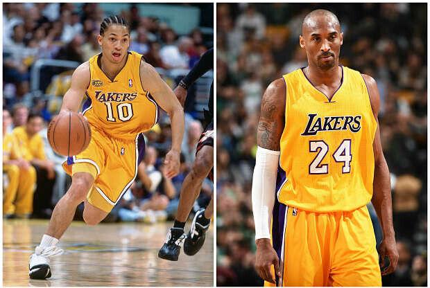 Kobe Bryant y Tyronn Lue