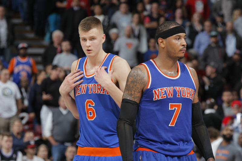 Kristaps Porzingis de New York Knicks