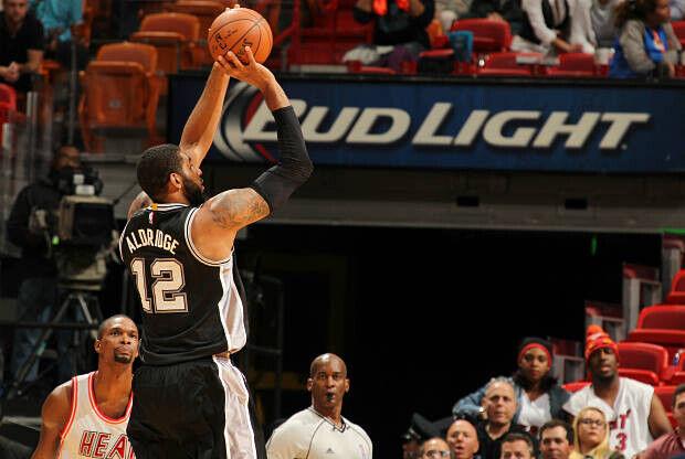 LaMarcus Aldridge de San Antonio Spurs