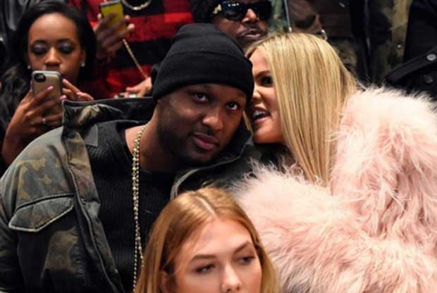Lamar Odom, junto a Khloe Kardashian
