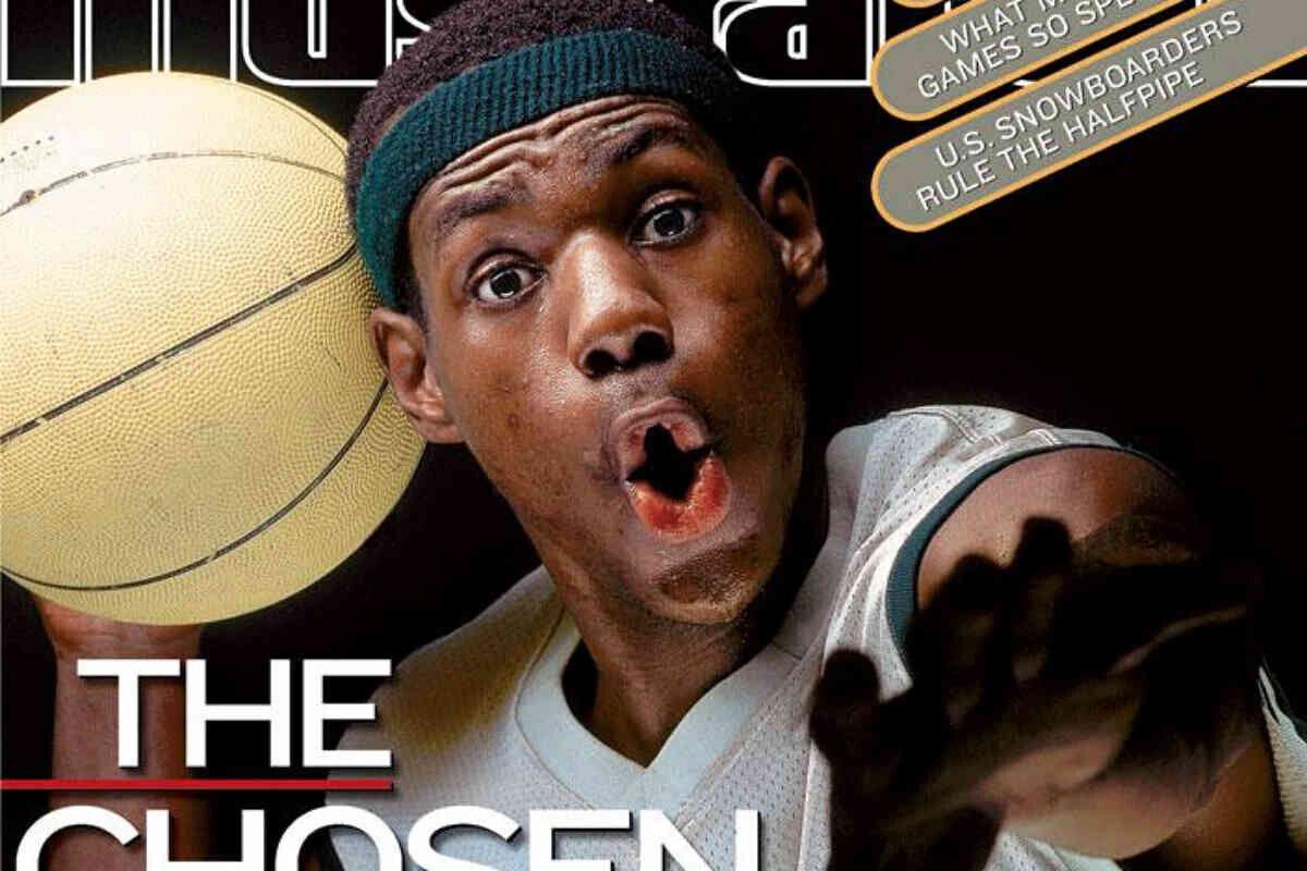 LeBron James en la portada de Sports Illustrated