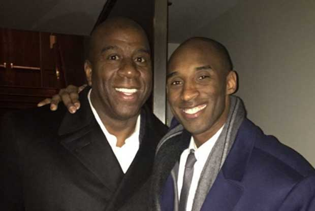 Magic Johnson se rinde ante Kobe Bryant
