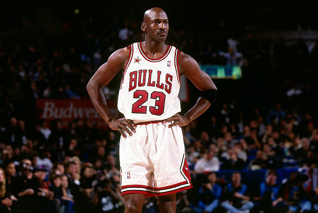 Michael Jordan de Chicago Bulls
