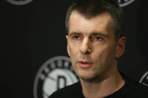 Mikhail Prokhorov dueño de Brooklyn Nets
